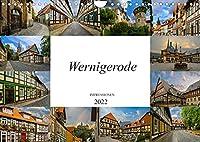 Wernigerode Impressionen (Wandkalender 2022 DIN A4 quer): Die bunte Stadt im Harz (Monatskalender, 14 Seiten )