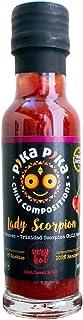 Lady Scorpion Chili Sauce / She kills you slowly / Waldbeeren mit Trinidad Scorpion Chili / 100 ml. / Schärfegrad: 9 von 10 / Slow Food Chilisaucen Manufaktur