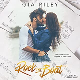 Rock the Boat audiobook cover art