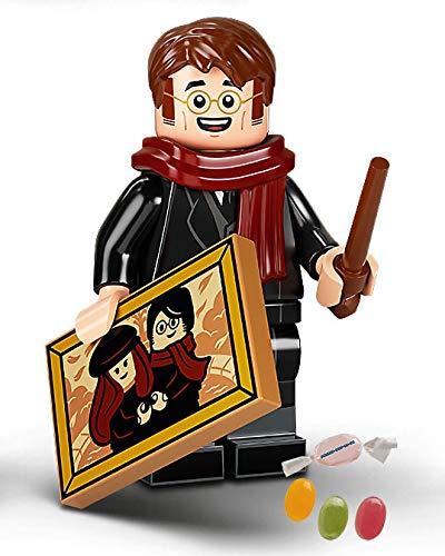 Serie 2 Lego® 71028 Harry Potter™ Minifiguren Figur 08 James Potter zusätzlich 1 x Sticker-und-co...