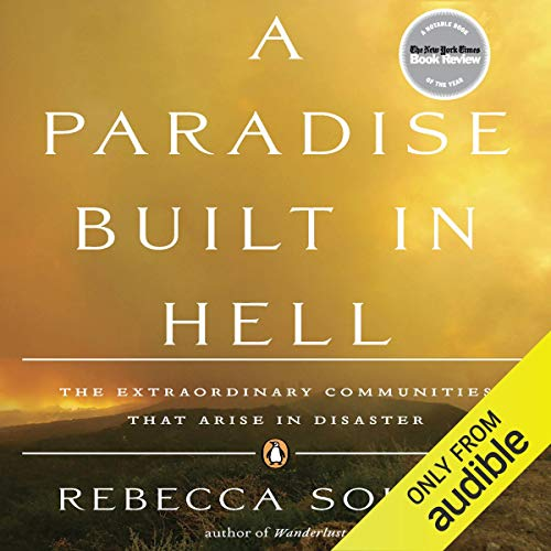 A Paradise Built in Hell audiobook cover art