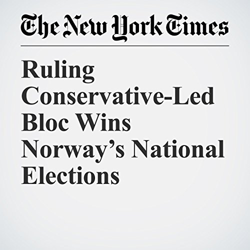Ruling Conservative-Led Bloc Wins Norway's National Elections copertina