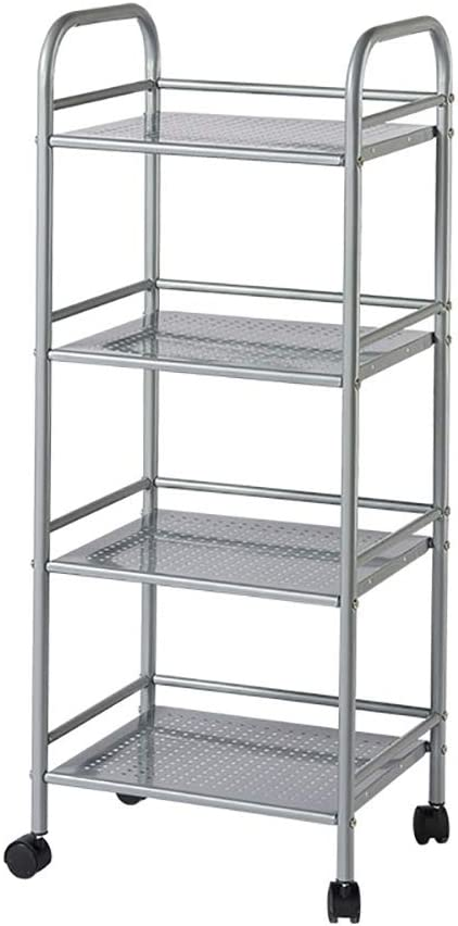 Kitchen Cart with Super popular specialty store Wheel Storage Movable Multi-Function Ranking TOP4 Tr Rack
