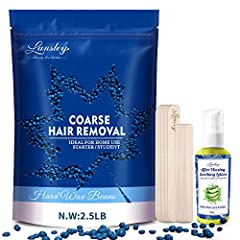 😎 High Quality and Efficient Waxing: Certified natural ingredients to extract blueberry essential oil and reduce skin sensitivity. It is an efficient and gentle wax that uses slow cooling and low temperature waxing method, easy back and forth use wit...
