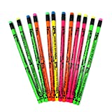 "J.R. Moon Pencil JRM7932B Dozen of You're The Best Pencils, 0.9"" Height, 2.4"" Wide, 8.2"" Length (12 Count)"