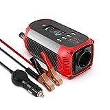 Beltt - Inversor de corriente (300 W, 12 V a 230 V, 4 puertos USB, pantalla digital, incluye enchufe para encendedor de coche)