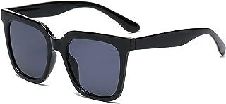 Simple big frame square sunglasses men and women trend photo sunglasses vacation sunglasses