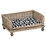 Me & My Pets Raised Woven Bed - Choice of Size