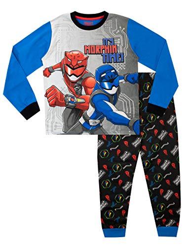 Power Rangers Pijamas de Manga Larga para niños Multicolor 6-7 Años
