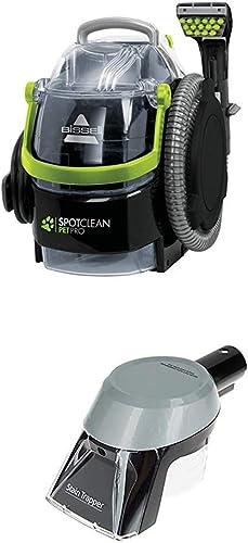 BISSELL SpotClean Pet Pro | Nettoyeur Compact Portable | 15585 + Outil Spécial Taches