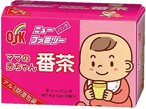 小谷穀粉 OSK ニューファミリーパック ママの赤ちゃん番茶 20包入 40g