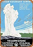 Forry Yellowstone National Park Metall Poster Retro