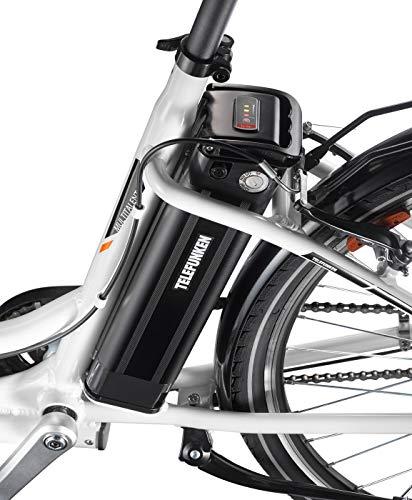 Telefunken E-Bike 28 Zoll Elektrofahrrad – Rücktritt & 7-Gang Shimano Nabenschaltung, Pedelec Citybike Alu mit Fahrradkorb, 250W und 10Ah, 36V Sitzrohrakku, RC756 Multitalent kaufen  Bild 1*