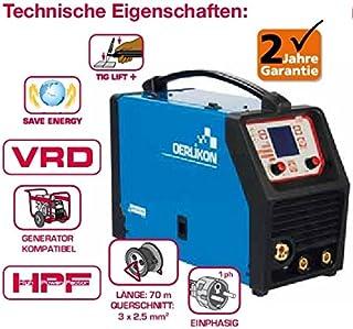 Oerlikon citomig 200 MP Inverter para S de mano, WIG, MIG/MAG (