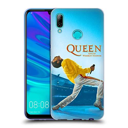 Head Case Designs Licenza Ufficiale Queen Freddie Mercury Live At Wembley Arte Chiave Cover in Morbido Gel Compatibile con Huawei P Smart (2019)