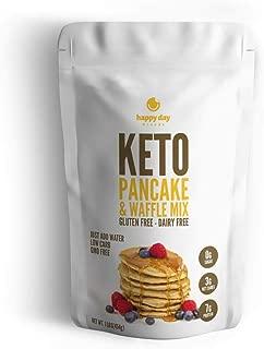 Happy Day Brands Keto Pancake & Waffle Mix, 16oz Bag