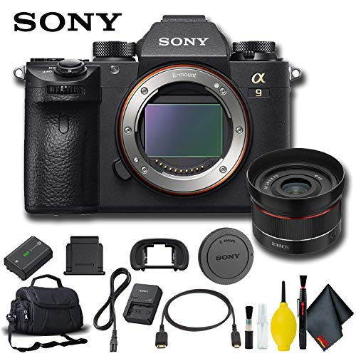 Read About Sony Alpha a9 Mirrorless Digital Camera Basic Bundle