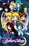 TLart Art Poster Sailor Moon 45,7 x 61 cm Stoff gerollt