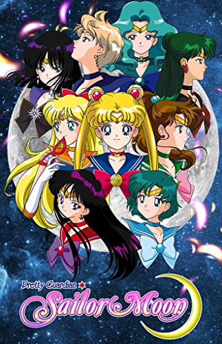 TLart Art Poster Sailor Moon 18x24 inches Fabric Cloth Rolled Wall Poster Unframed for Wall Decoration