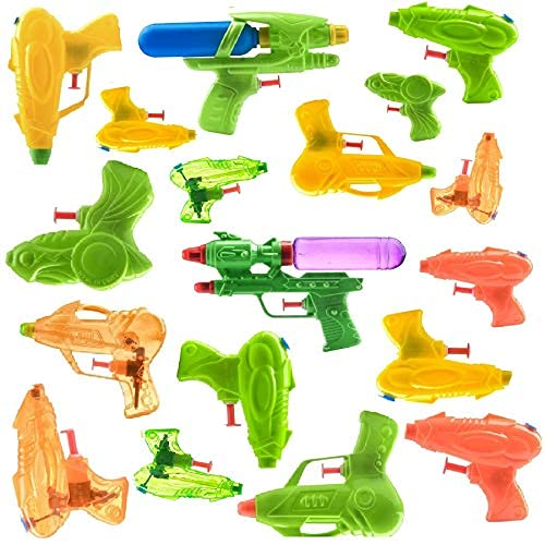 18 Piece Water Guns Pool Water Shooters and Water Blasters Combo Set of Water Squirt Toy