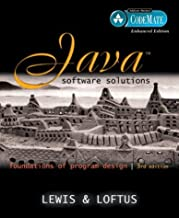 Java Software Solutions: Foundations of Program Design, CodeMate Enhanced Edition (3rd Edition)