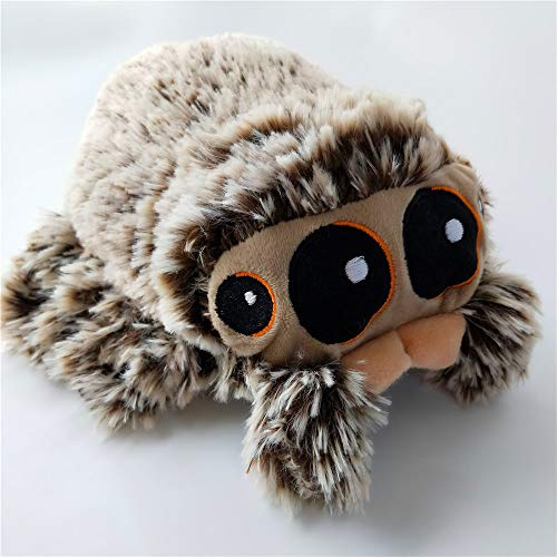 Tarantula Stuffed Animal, Kelee Plush Toy Spider Lucas Little Insects Jumping Spider Doll Tarantula Plush Stuffed Animal 7 8 Tall For Gifts Wantitall