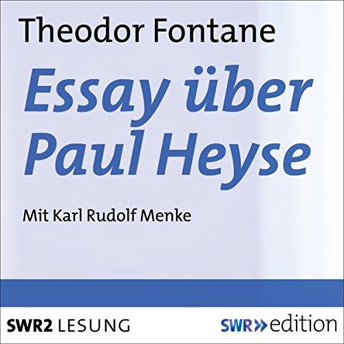 Essay über Paul Heyse Titelbild