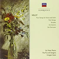 4 Songs for Voice & Violin, Part Songs, Terzetto.. by Pears/Brainin/Britten/Purcell Singers/English C.O. (2011-01-25)