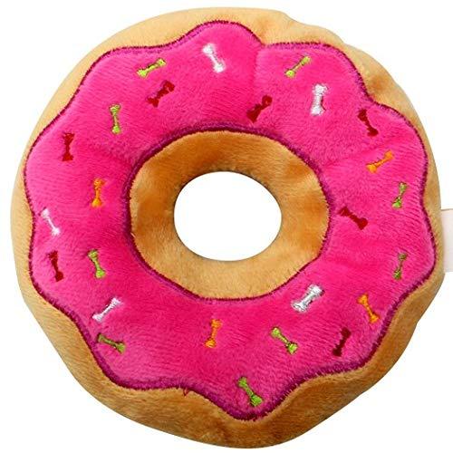 LOYFER Cojín Redondo con Divertido Estampado en Forma de Donut, de Felpa, 65X65X16cm.Cojín de Peluche XXL Extra Grueso y Extra Suave, diseño en Forma de Donut