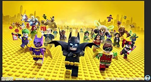 Benutzerdefinierte 3d-tapete Justice League Wandbild Superman Batman Fototapete Kinder Schlafzimmer Büro Hotel Wohnzimmer Kindergarten