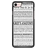 Grey S Anatomy - Typography 1 Iphone 6 Case AQ