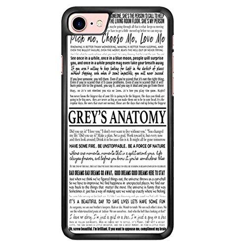 Grey S Anatomy - Typography 1 iPhone 6 Case AQ