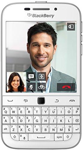 Blackberry Classic Smartphone, 16 GB, Bianco [Italia]