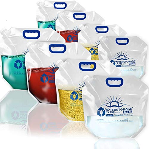 Premium collapsible water bags