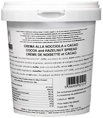 Pariani Crema Spalmabile Nocciole e Cacao - 1000 g