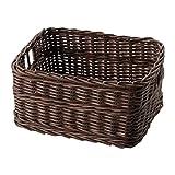 IKEA Gabbig Basket 703.220.64 Marrón Oscuro Tamaño 9 ¾x11 ½x6