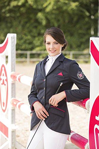 Lauria Garrelli by HKM Softshell Reitblazer -Polo classic-, Damengrösse 34, dunkelblau