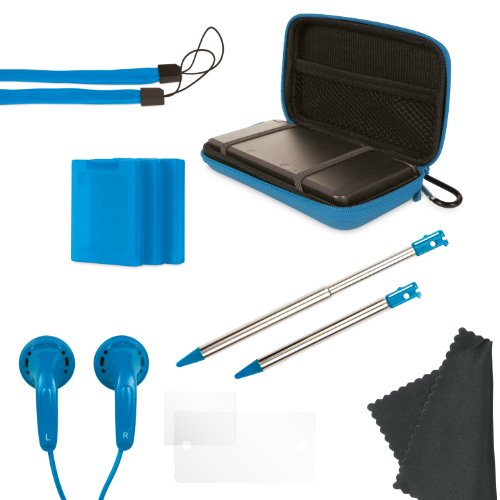 Nintendo 3DS 11-In-1 Starter Pack - Blue
