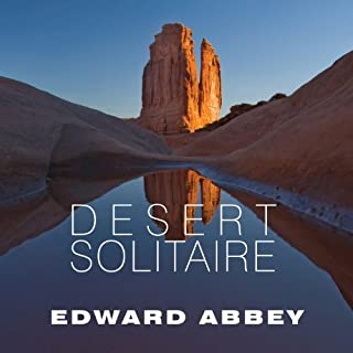 Desert Solitaire audiobook cover art