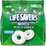LIFE SAVERS Wint O Green Mint Hard Candy, 26-Ounce Family Size Bag
