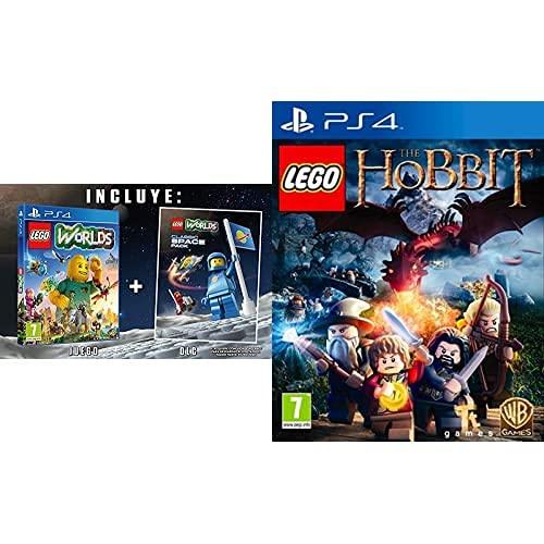 LEGO Worlds - Edición Exclusiva Amazon - PlayStation 4 + LEGO: El Hobbit