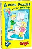 HABA-305235-6 Primeros Puzzles-Mi Día puzle Infantil, Multicolor (305235)