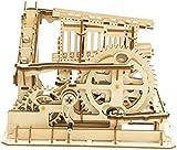 Robotime Laser Cut Puzzle de Madera | Kit de construcción Set Model | Juego de Puzzle en 3D (Cog Coaster)