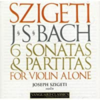 J.S.BACH/ 6 SONATAS & PARTIATS FOR VIOLIN SOLO