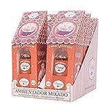 VINTAGE PARFUM Pack 6 Ambientadores Mikado 6 x 30ml. Fragancia Fresca y Duradera Que Llena tu Estancia con un Ambiente Limpio y Lleno de armonía (Coco)