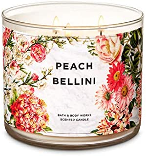 White Barn Peach Bellini 3-Wick Candle