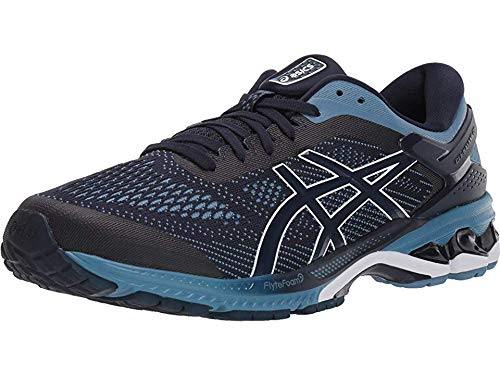 ASICS Men's Gel-Kayano 26 Midnight/Grey Floss 11 EE - Wide