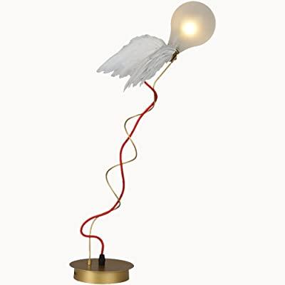 Lámpara de Mesa nórdica Lámpara de Escritorio con Forma de ala ...