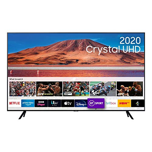 "Samsung 43"" TU7000 HDR Smart 4K TV with Tizen OS Black"