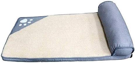 ZRL77y Pet Beds Mat Soft Nest Dogs Cat Kennel Teddy Sofa Pet Supplies Winter Plush Nest Kennel Lovely Tart Warm Comfortabl...
